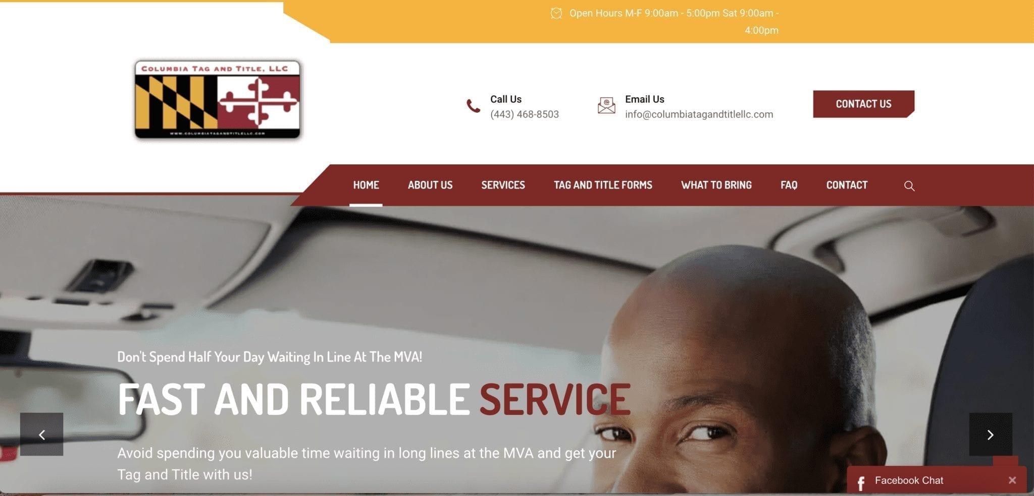 Maryland SEO Tag and Title Company