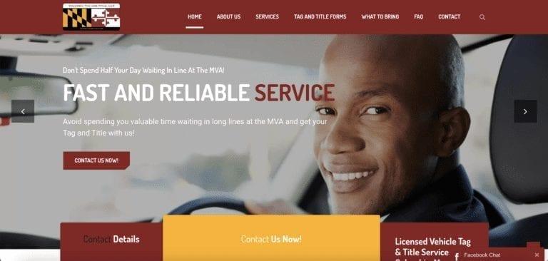 Maryland Tag and Title SEO Company