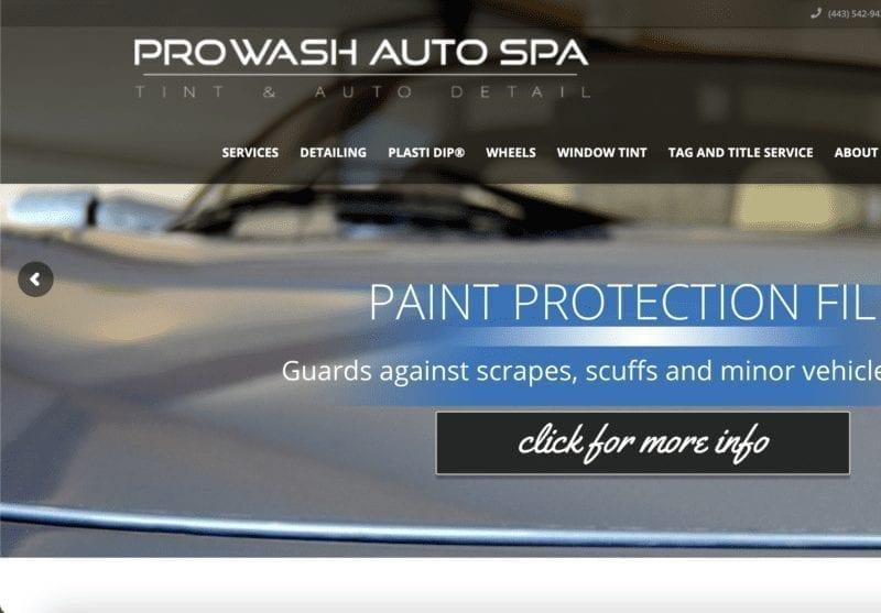Maryland SEO Car Wash Service