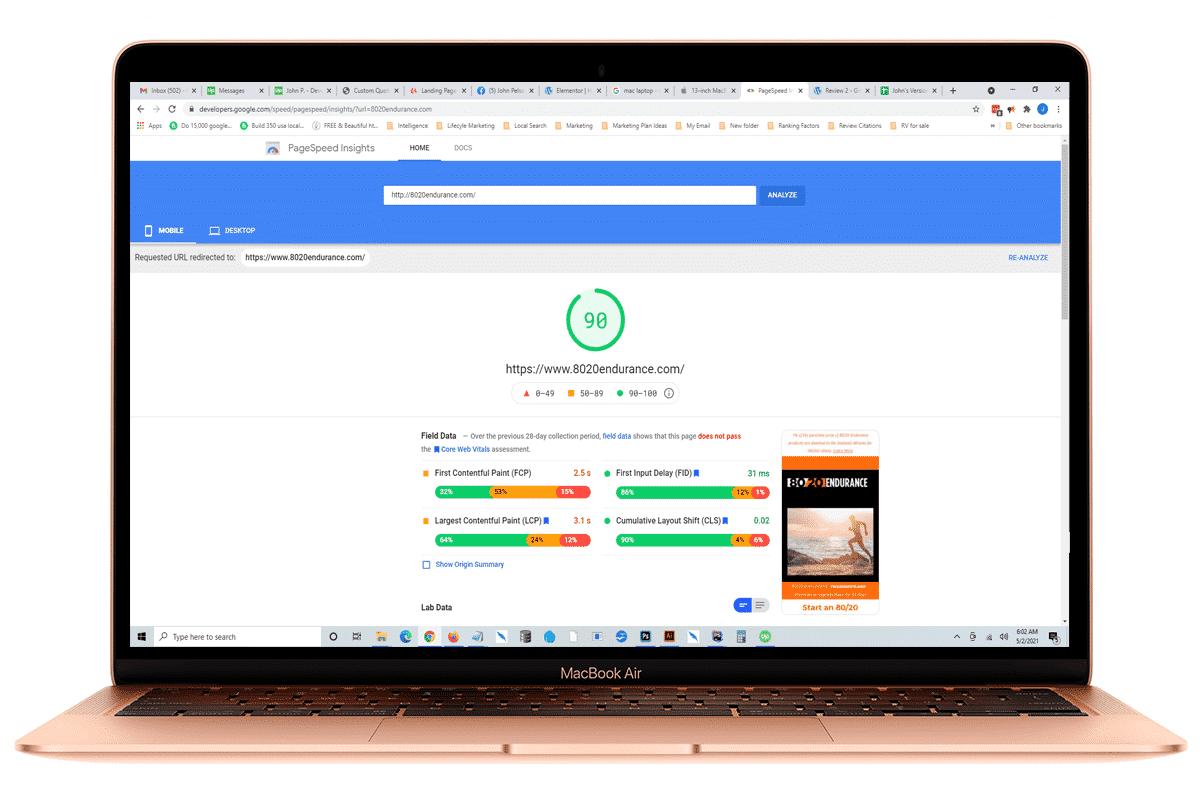 Google-Speed-Optimization Maryland SEO