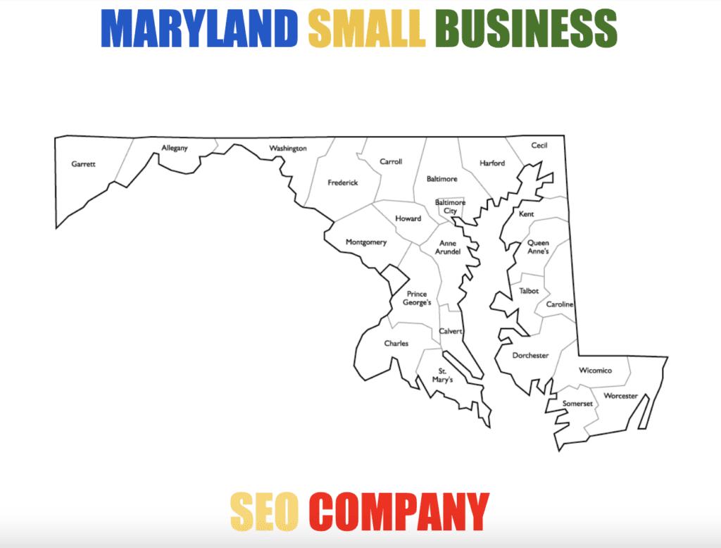 Maryland SEO Company Cities